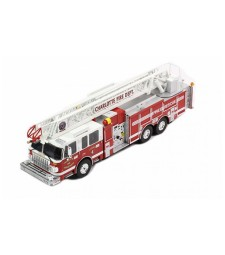 Smeal 105 Rear Mount Ladder, Charlotte Fire Department