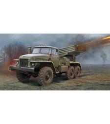 1:35 Руска система за залпов огън BM-21 Grad Multiple Rocket Launcher