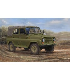 1:35 Руски военен джип УАЗ-469 /UAZ-469/