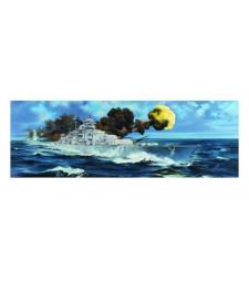 1:200 Германски боен кораб DKM  Bismarck, Втора световна война