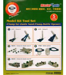 Комплект инструменти за хоби моделизъм