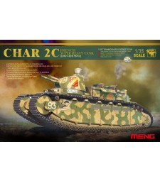 1:35 Френски тежък танк Char 2C (Char 2C French Super Heavy Tank)