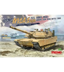 1:35 Американски танк на морските пехотинци USMC M1A1 AIM/U.S. Army M1A1 Abrams Tusk