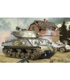 1:35 Американски танк Шърман М4А3 (M4A3 (76) W) - метално оръдие
