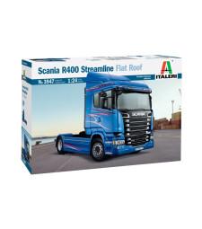 1:24 Камион влекач SCANIA R400 STREAMLINE (плосък покрив)
