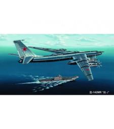 "1:144 Руски противолодъчен самолет-ретранслатор Туполев Ту-142МР /Tu-142MR ""Bear-J""/"