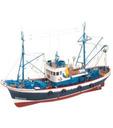 """1:50 """"Марина II"""", дизелов кораб - Модел на кораб от дърво"""