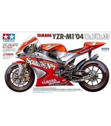 1:12 Мотоциклет Yamaha YZR-M1'04No.7/No.33