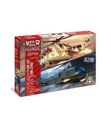 1:72 War Thunder: Хеликоптери MIL Mi-24D/UH-1B - Комплект от 2 модела
