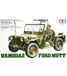 1:35 Американски военен автомобил U.S. M151A2 FORD MUTT -  1 фигура