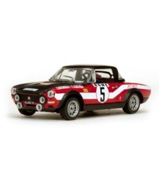 Fiat 124 Abarth - #5 R.Pinto/A.Bernacchini - Rallye Monte-Carlo 1973