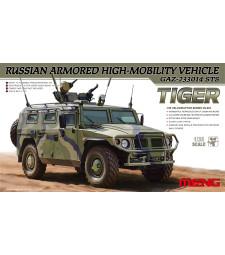 1:35 Руски брониран автомобил ГАЗ 233014 СТС (Russian Armored High-Mobility Vehicle GAZ 233014 STS)