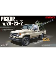 1:35 Пикап със зенитено оръдие ЗУ-23-2 (Pickup w/ZU-23-2)