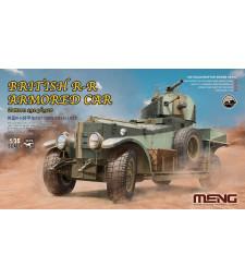 1:35 Британски брониран автомобил Ролс Тойс (British Rolls-Royce Armoured Car)
