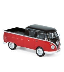 VW T1 Double Cabin 1961 - Red & Black