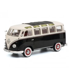 VW T1b Samba, black-white