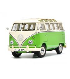 VW T1 Samba, green-white