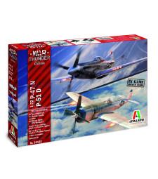 1:72 War Thunder: P-47N / P-51D - комплект от два модела