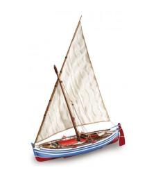 """1:20 """"Кадакес"""" - Модел на лодка от дърво"""