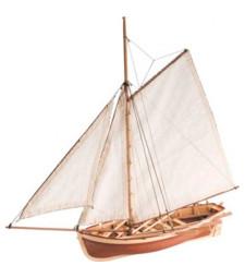 """1:25 Лодка на кораба """"Дар"""" (H.M.S.Bounty's Jolly Boat) - Модел на лодка от дърво"""