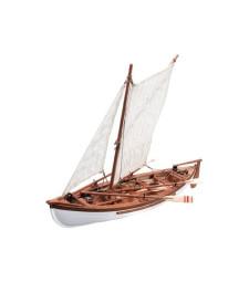 1:35 Провидение, китоловен кораб от Нова Англия (Providence-New England's Whale Boat) - Модел на кораб от дърво
