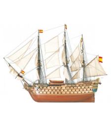 """1:84 """"Света Ана"""" - Модел на кораб от дърво"""
