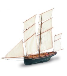 "1:50 Френски бискин ""La Cancalaise"" - Модел на кораб от дърво"