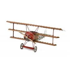 1:16 Фокер ДР. I Червения барон (Fokker DR.I 1918 Red Baron) - Модел на самолет от дърво