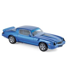 Chevrolet Camaro Z28 1980 - Blue metallic with Blue stripping