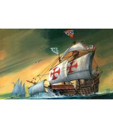 1:350 Флагман на Христофор Колумб - сглобка без лепило