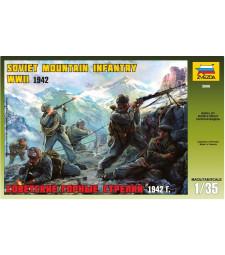 1:35 Съветска планиска кавалерия - 6 фигури