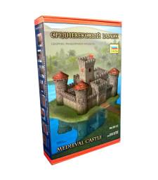 1:72 Средновековен замък от камък