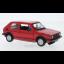 VW Golf MKI GTI, red, 1979