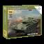 1:100 Съветски танк Т-44 (T-44 SOVIET TANK) - Сглобка без лепило