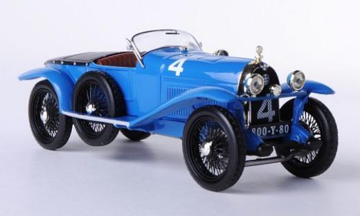 LORRAINE-DIETRICH B3-6 #4 Stalter-E.Brisson 3rd Le Mans 1925