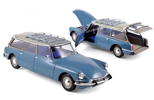 181591 Citroеn ID 19 Break 1967 - Monte Carlo Blue