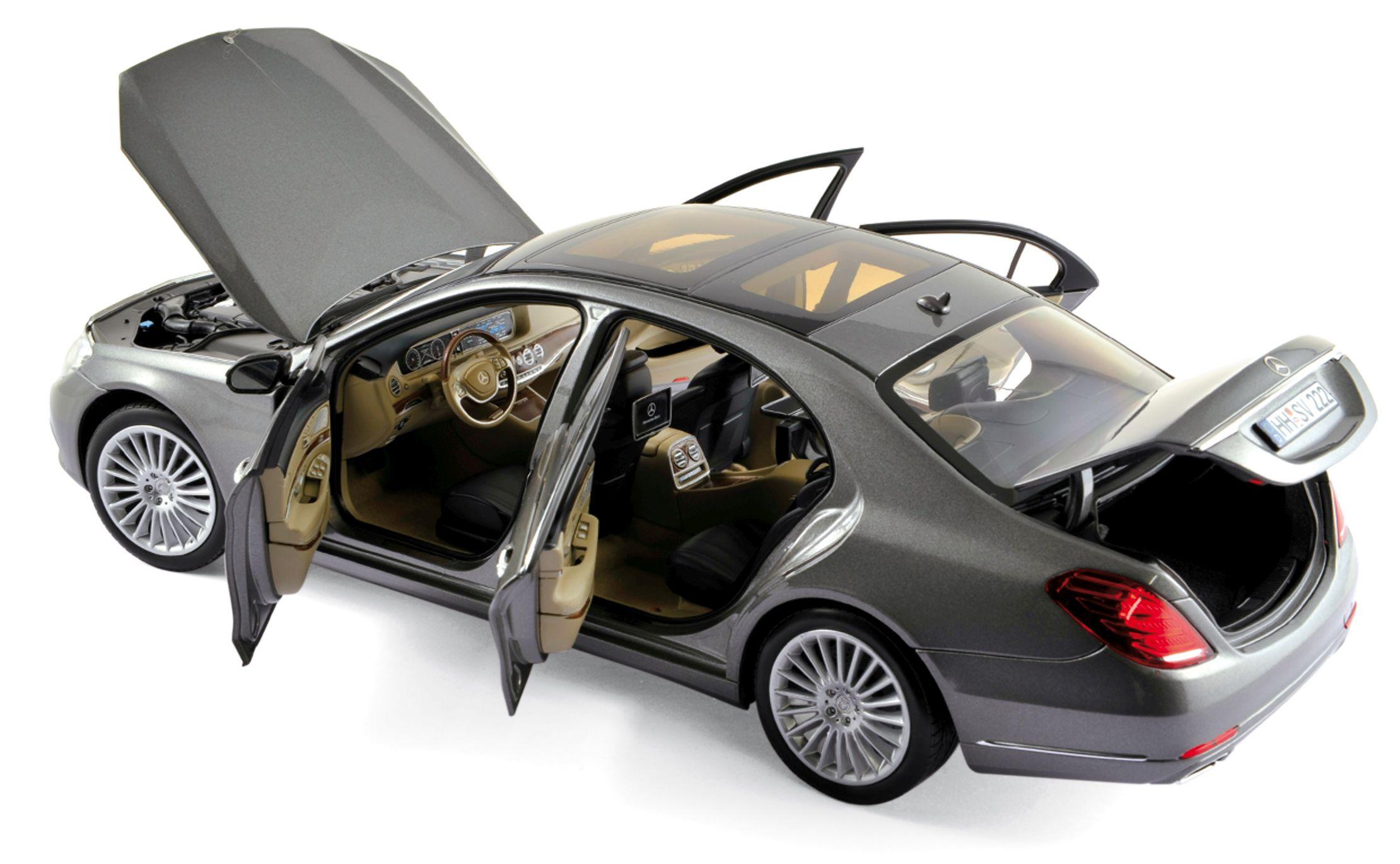 183481 Mercedes-Benz S-Klasse 2013 - Palladium Silver