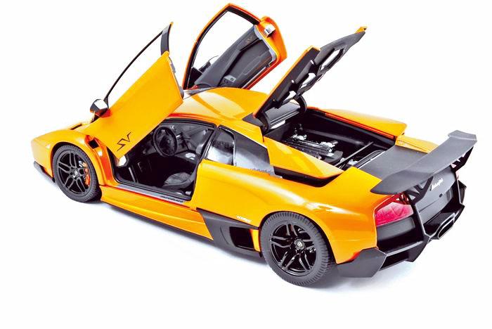 187962 Lamborghini Murcielago LP670-4 Super Veloce 2009 Orange