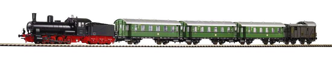Стартов сет с локомотив и 4 вагона PIKO 57121 H0 /1:87/
