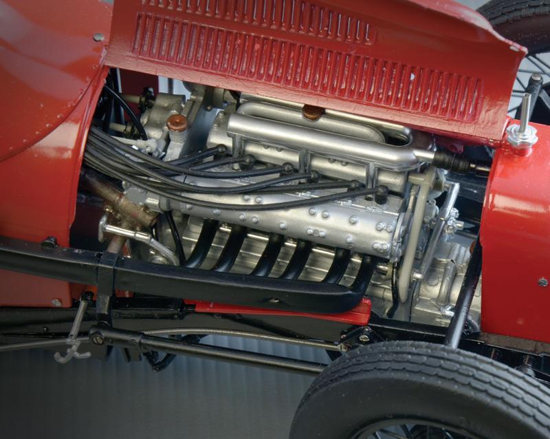 1:12 Състезателен автомобил FIAT 806 GRAND PRIX