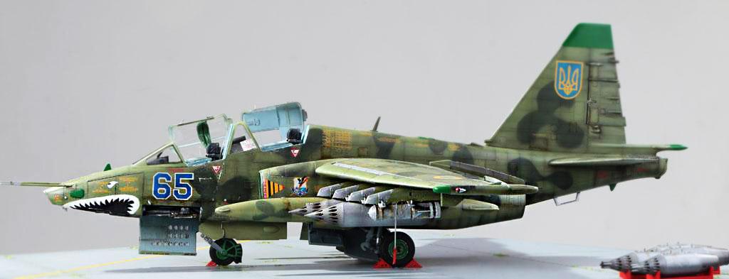 1:32 Съветски щурмовик Сухой Су-25UB
