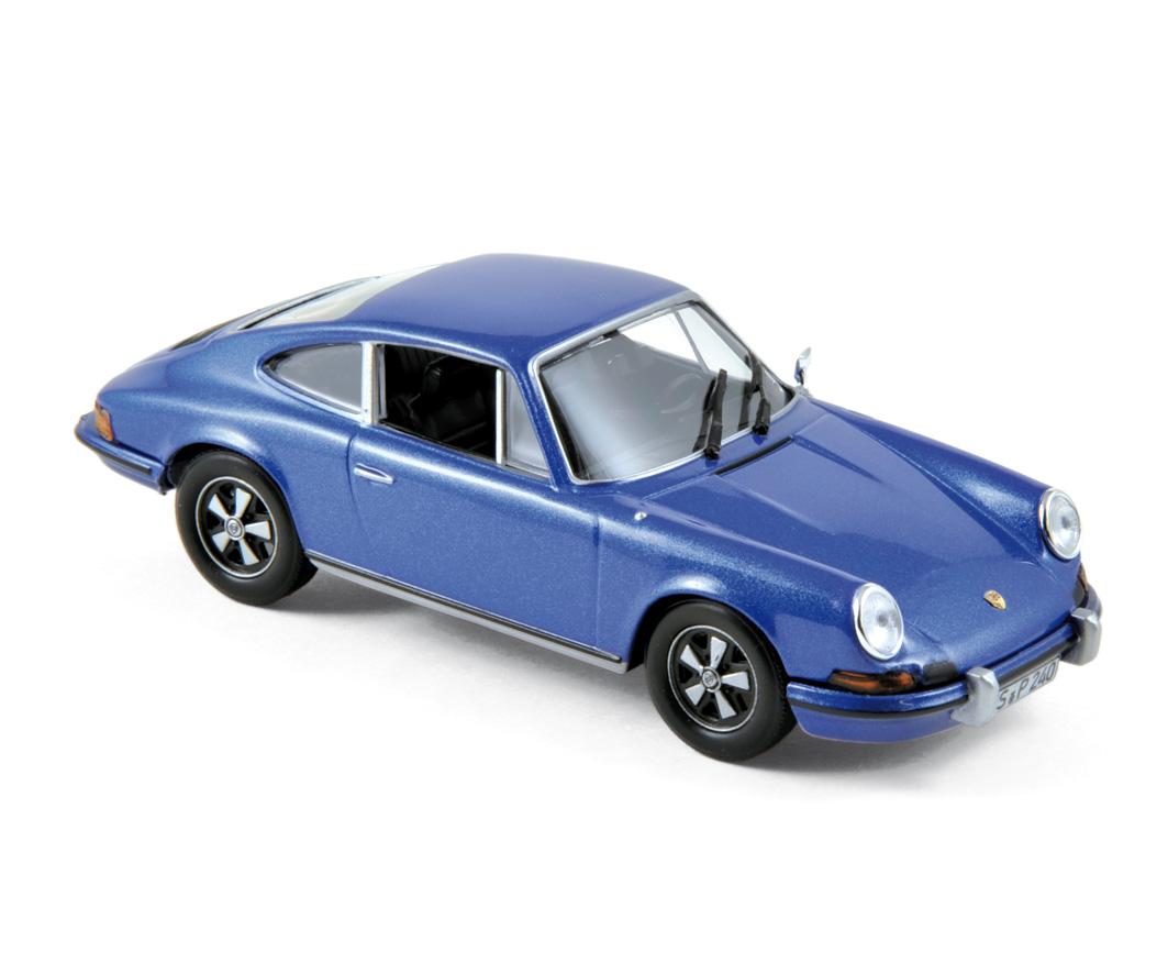 750055 Porsche 911 S 2.4 1973 - Germini Blue