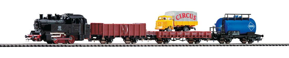 Стартов сет с парен локомотив и 3 вагона PIKO 57111 H0 /1:87/