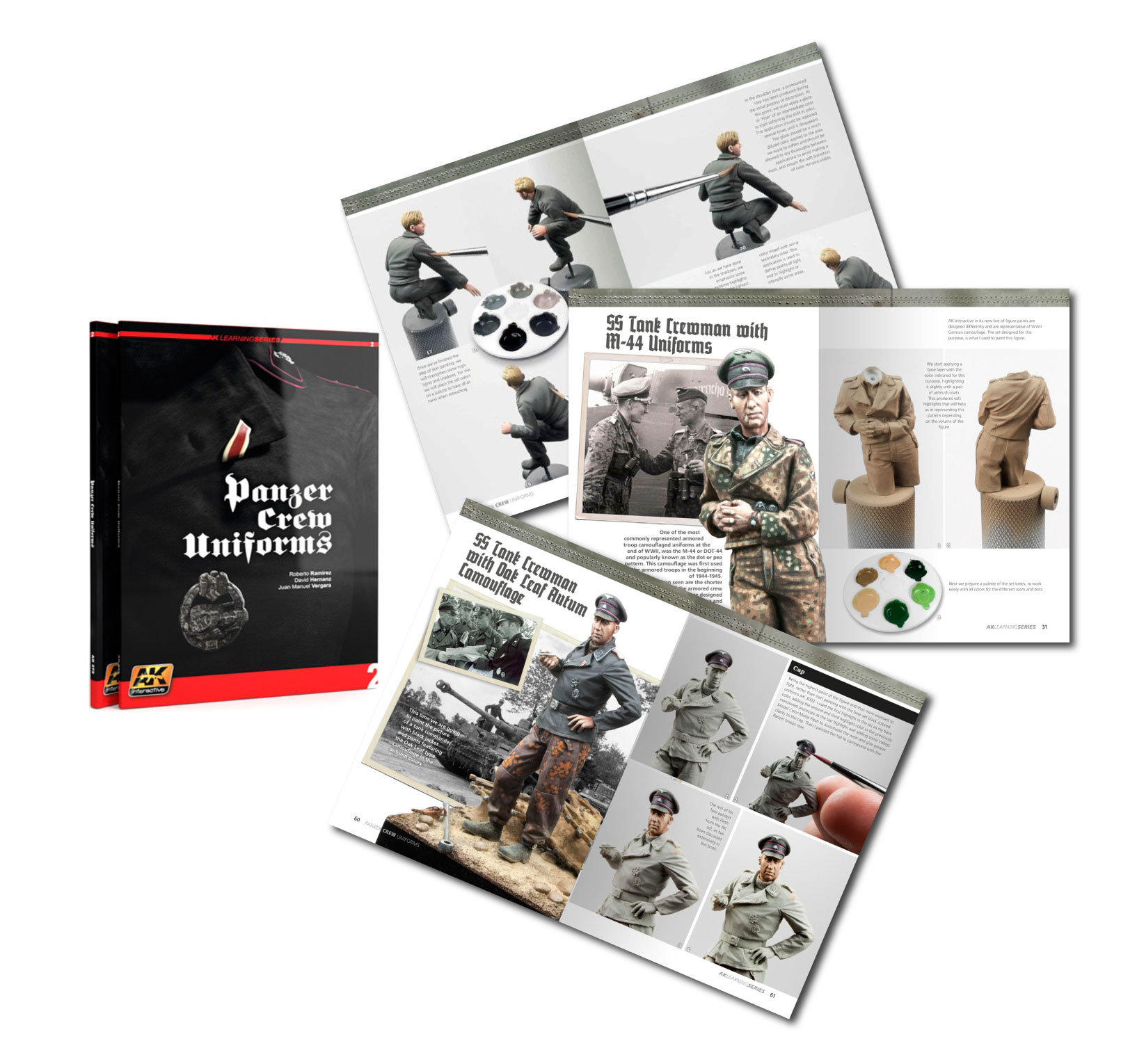 AK-272 PANZER CREW UNIFORMS PAINTING GUIDE. LEARNING SERIES 02