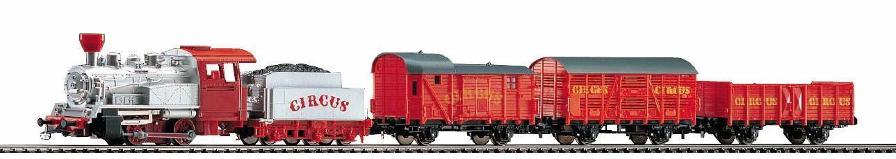 Стартов комплект Цирков влак с три вагона PIKO 57145 H0 /1:87/