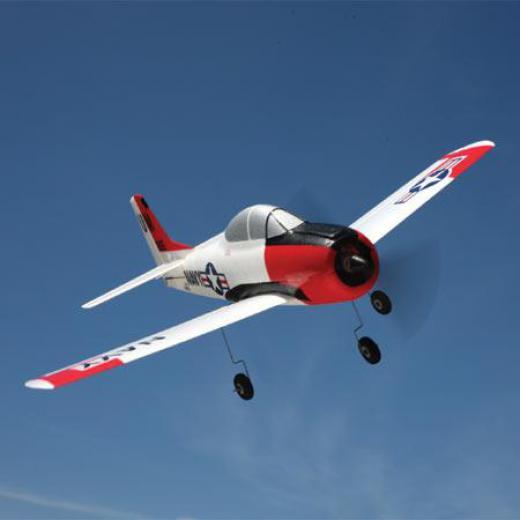Радиоуправляем самолет Parkzone Ultra Micro T-28 Trojan RTF