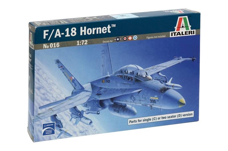 1:72 Изтребител на САЩ Boeing/McDonnell-Douglas F/A-18 C/D Wild Weasel