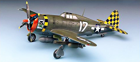 1:72 P-47D THUNDERBOLT(RA)